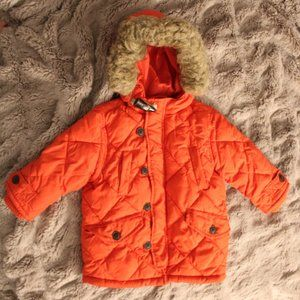 BABY GAP RED JACKET with hood